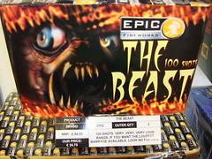The Beast - UKs Loudest Firework (EpicFireworks) Tags: colour fireworks firework pyro 13g epic barrage pyrotechnics singleignition