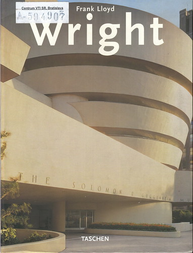 frank lloyd  wright - taschen by you.