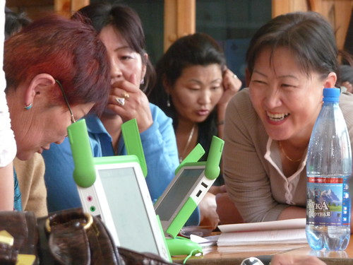 XO laptops in Mongolia