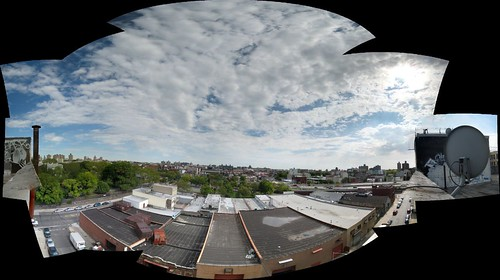 Brooklyn Pano from Nicole's roof