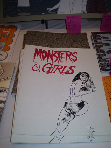 Monsters and Girls 1 and 1.5 at the Sundays table