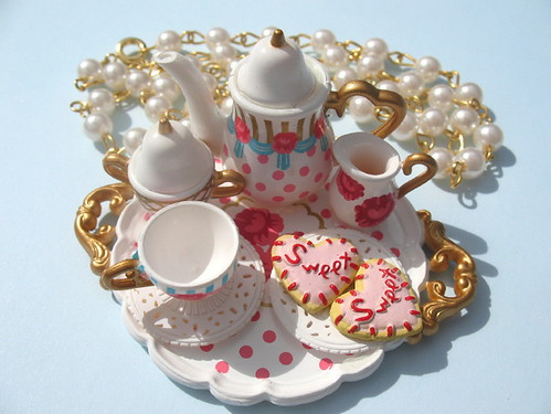 Tea Party For A Princess Necklace