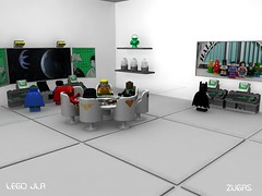 Lego JLA Meeting (Zugas) Tags: lego jla league justice maya modeling cgi 3d superfriends comicbook superman batman greenlantern wonderwoman flash aquaman martianmanhunter starro braveandthebold legobatman dc dccomics america 2008 ray autodesk mental hall legohero legosuperhero 3dlego legomodel legocomicbook