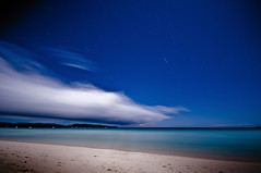 After Party (Ageel) Tags: longexposure sea sky beach clouds island photography sand nikon philippines sigma explore boracay 1020mm whitebeach d300 startrail explored 1explore ageel  10mints