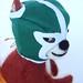 Squirrel Luchador by feltmates!