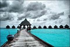 Walk In! (Prof EuLOGist) Tags: water jetty resort hut maldives bungalow atoll jinan hussain thulhagiri kaafu