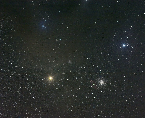 Antares and M4