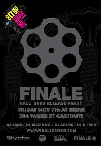 finale_shine_party_flyer by you.