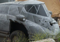 "Calgrove Kennel - Mr. Freeze's Car From ""Batman and Robin"" (tkksummers) Tags: california batman santaclarita batmanandrobin losangelescounty contestentry moviecar hitmissormaybe newhallpass santaclaritaca trashbit"