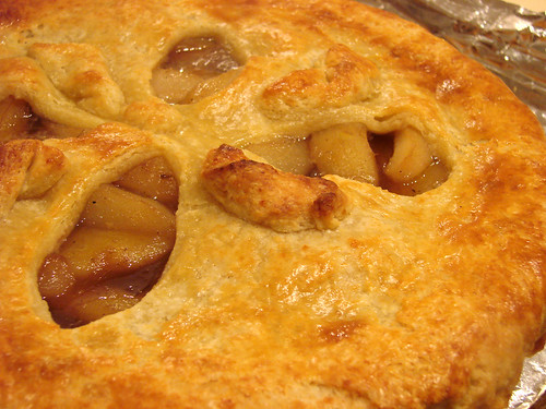 Mmm.  Pear Gruyere Pie!