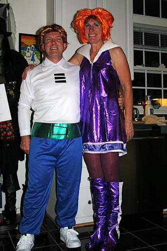 George & Jane Jetson by lynx81