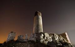 Nocturna Castillo Olsztyn (Popewan) Tags: castle ruins polska ruinas nocturna castillo polonia olsztyn zamek largaexposion noctambulos