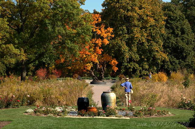 Cantigny Fountains, Prairie and Visitors