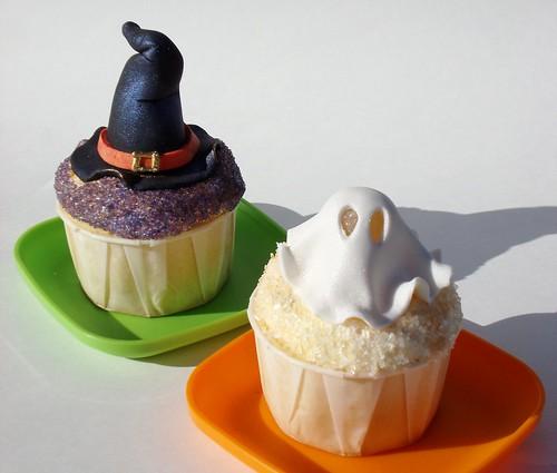 Halloween Screamsicle Cupcakes