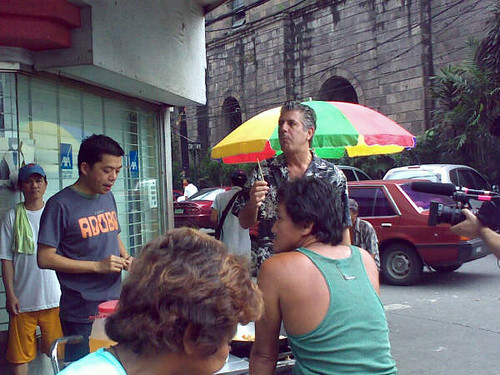 Anthony Bourdain with Ivan Man Dy, The Streetwalker