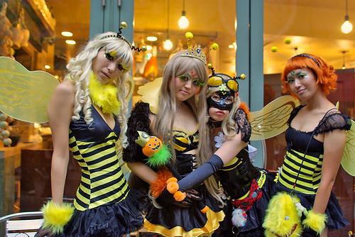 Cutie Bees Kawasaki Halloween 2008 47