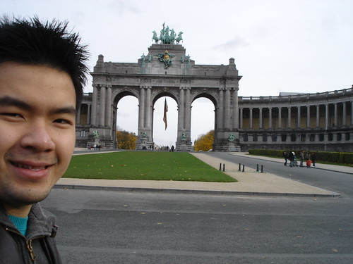 The Cinquantenaire Arch