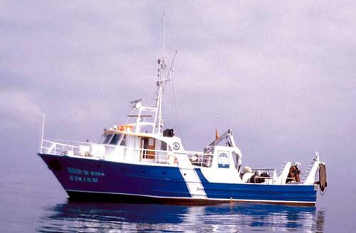 Barco oceanográfico