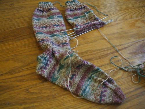 Joanne's Xmas Socks 08