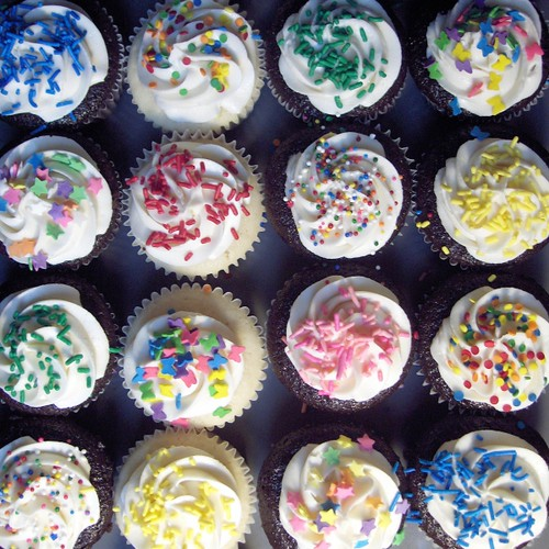 Sprinkles! Sprinkles! Sprinkles! by clevercupcakes.