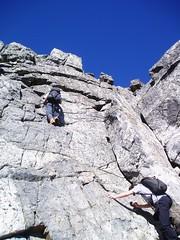 Fourth Class Terrain (Dru!) Tags: canada bc britishcolumbia peak alpine scramble robertson scrambling alpinism chehalis coastmountains alpinists stemalot donserl fourthclass tipellacreek trethewaycreek thechehalis