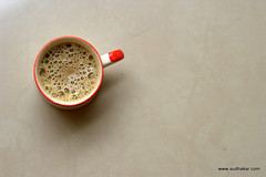 Be my guest..... ($udhakar) Tags: morning coffee iso200 pentax fresh tiles foam frothy hpc redcup amudha f32 1125s cafine smcpa50mmf17 justpentax pentaxk100dsuper amrutham wwwsudhakarcom netctar