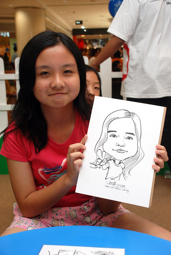 caricature live sketching for West Coast Plaza day 2 - 33