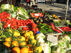 Saturday market fruit and veggies