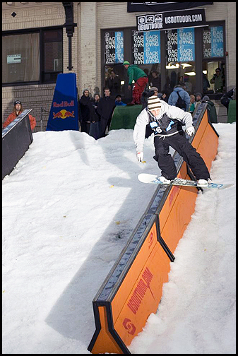 Backyard Bang Rail Jam, Portland, Oregon