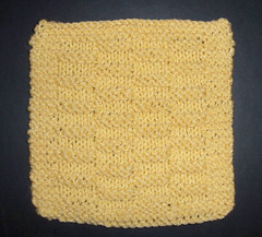 7 by 7 Basket Welt Square - Cornmeal