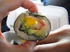 avocado kimbab @ songs family