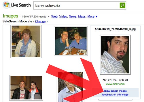 """Live Search """"Similar Images"""""""
