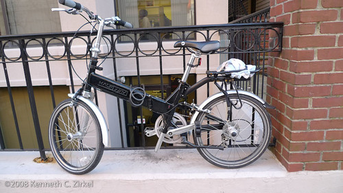 HalfWay folding bicycle