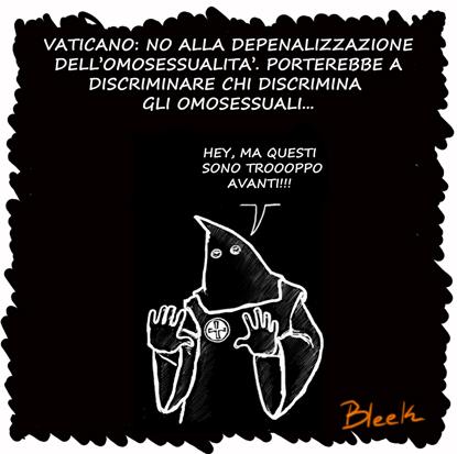 depenalizzazione omosessualità
