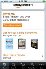 New Amazon iPhone app