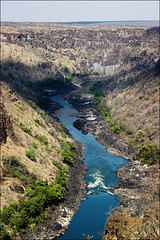 Gorge view (AnyMotion) Tags: africa travel nature water reisen wasser canyon zimbabwe afrika gorge 2008 schlucht naturesfinest anymotion zambeziriver landschaftsaufnahmen anawesomeshot gorgelodge