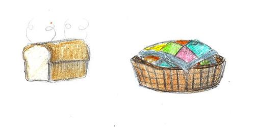 Bread + Quilt = Mmmmmm!