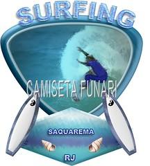 desenho surfando saquarema conchas