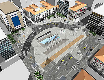 Omonia Square - CADD Design