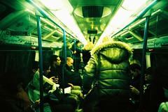 (mi..chael) Tags: life uk people london subway lca lomography kodak lofi slidefilm chrome crossprocessing analogue traveling vignette 135mm ebx100   eltie