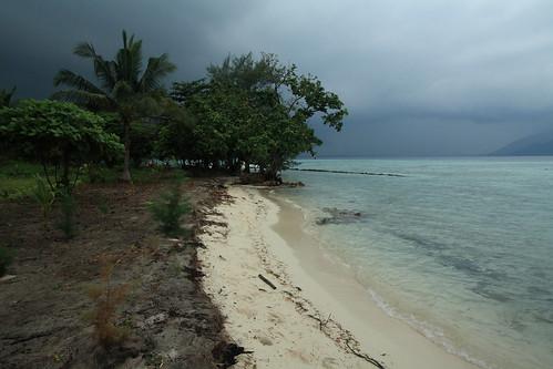 Mendung Tebal di Karimun Jawa