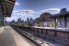 Waiting In Harlem for the Train 1 (medavecool) Tags: street new york station train harlem 125th