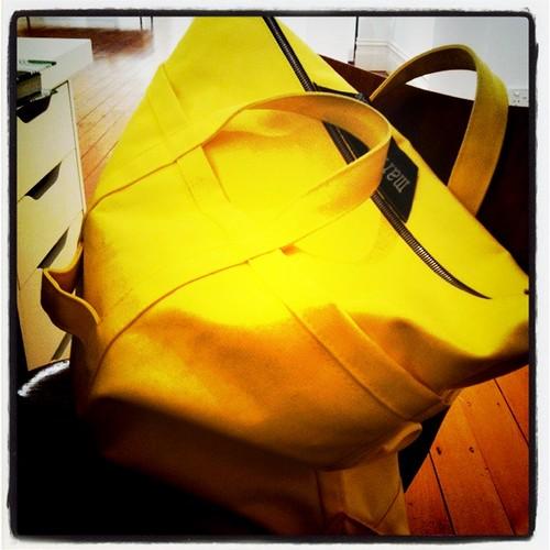 Yellow marimekko