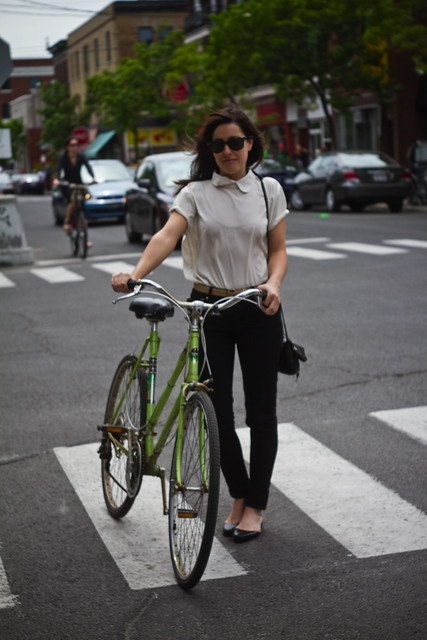 Montreal Cycle Chic Gabrielle