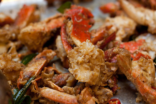 salted egg york crab
