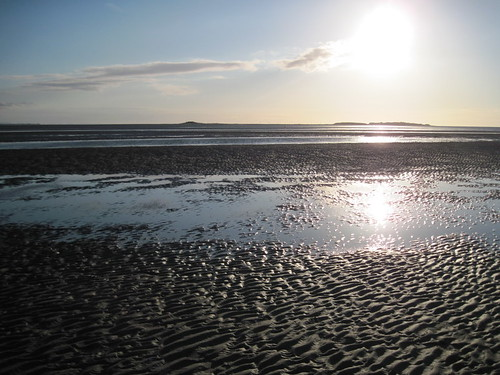 Evening sun in West Kirby