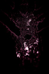 Comes the ghost of Minotaur (eotiv) Tags: pink shadow abstract man black monster danger greek darkness famous bull legendary forgotten memory beast ghostly mythology myth minotaur archetype