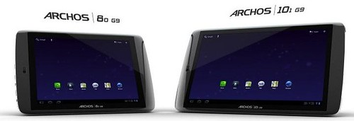 ARCHOS 80 G9 and 101 G9