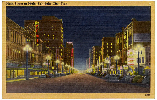 Salt Lake City at night_tatteredandlost