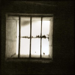 Incarcerated (Parcelpacker) Tags: film holga diafine hp5 palabra lithprinting kentmerekentona ld20lithdev